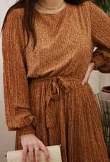 Make My Day AW20-8-MMD-Plisse dress Midi