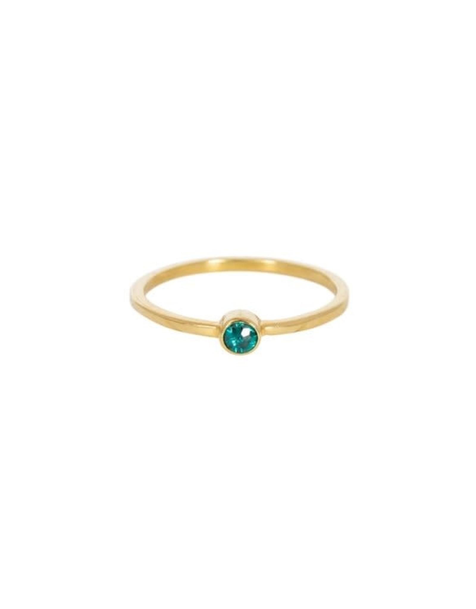 Taj TAJ- KEALA GREEN QUARTZ Ring