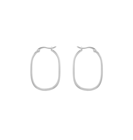 Anna+Nina Anna+Nina- Single Link Hoop Earring (Per stuk)