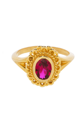Taj TAJ-Pink Ruby Ring Persephone