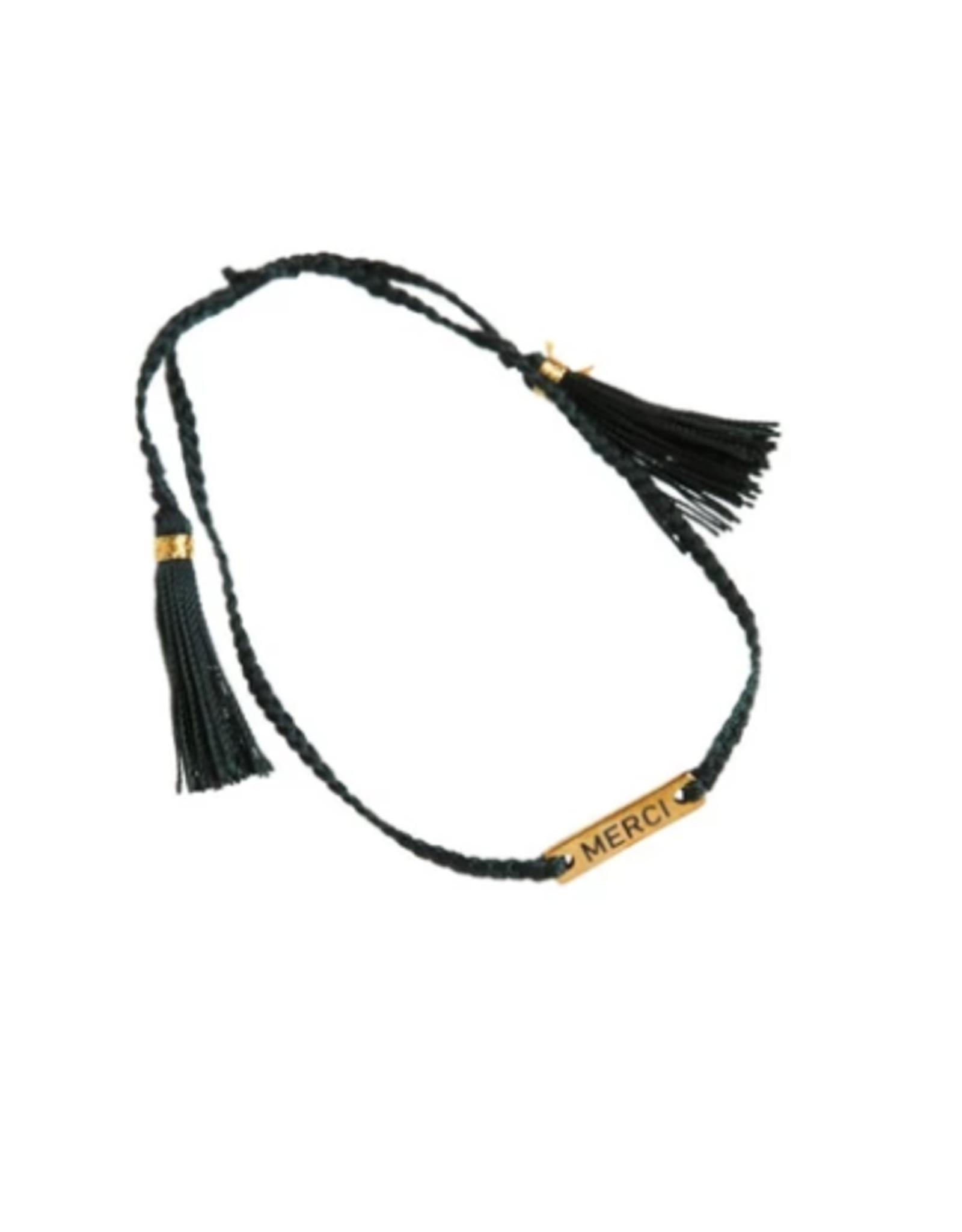 Xzota Xzota- Bracelet woven Merci