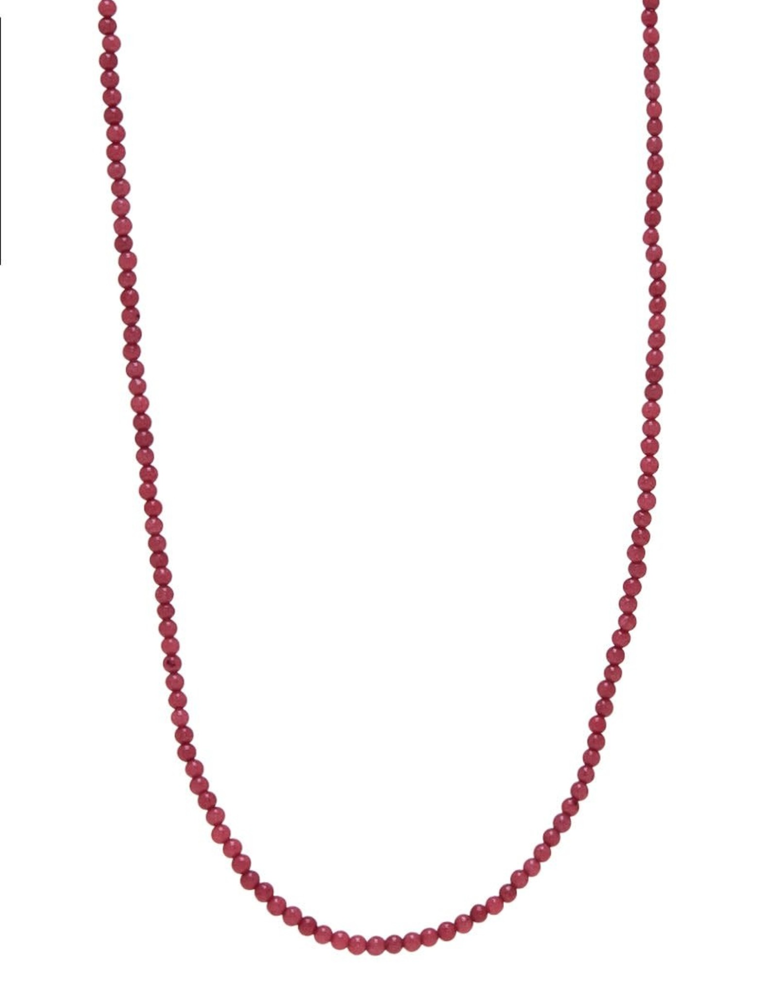 Xzota Xzota- Necklace Jade Pink Gold