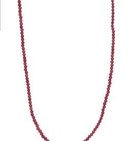 Xzota Xzota- Necklace Jade Pink Gold