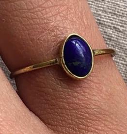 Xzota Xzota- Ring Lapis azulli oval