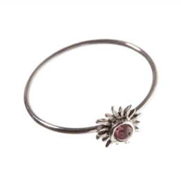 Xzota AW20-Xzota-Ring Sun ruby