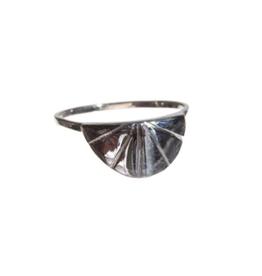 Xzota SS21-Xzota-Ring Sunrise Silver