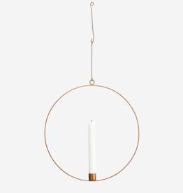 Madam Stoltz Wire Ring Candle holder 40cm