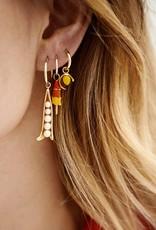 Anna+Nina Anna+Nina - Charm Earring Peapod(Per stuk)