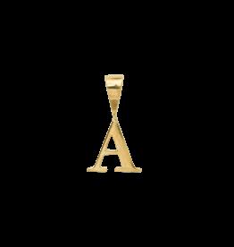 Anna+Nina Anna+Nina - Initial Necklace Charm