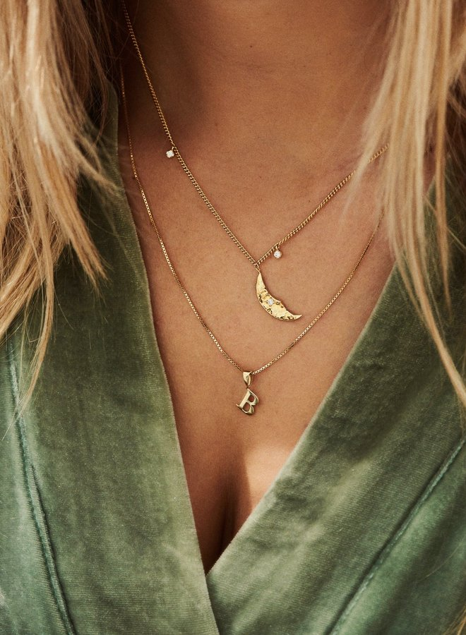 Anna+Nina Initial Necklace Charm