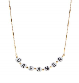 Xzota Xzota - Necklace Dreamer gold plated