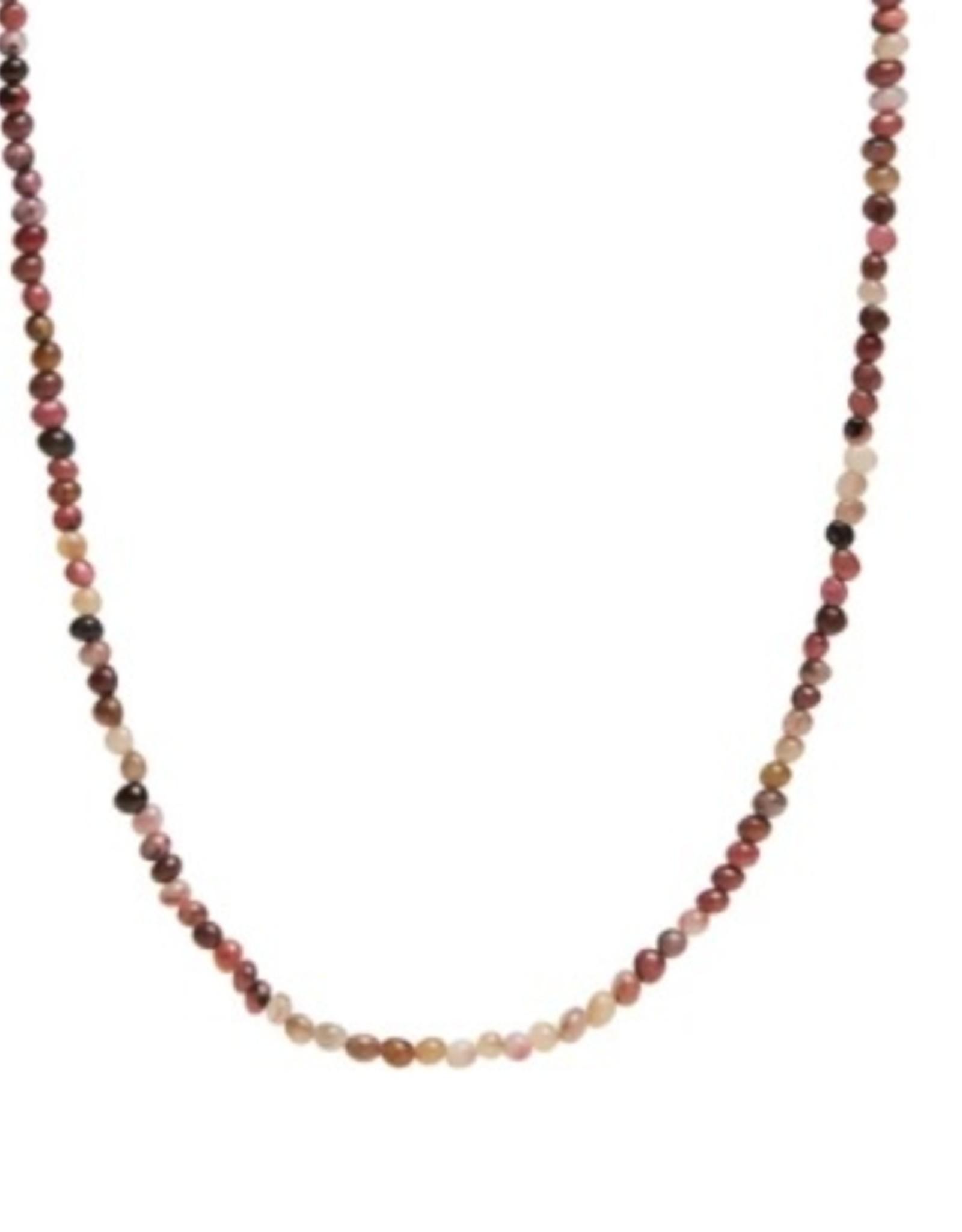 Xzota Xzota -Necklace Rodonite Lock