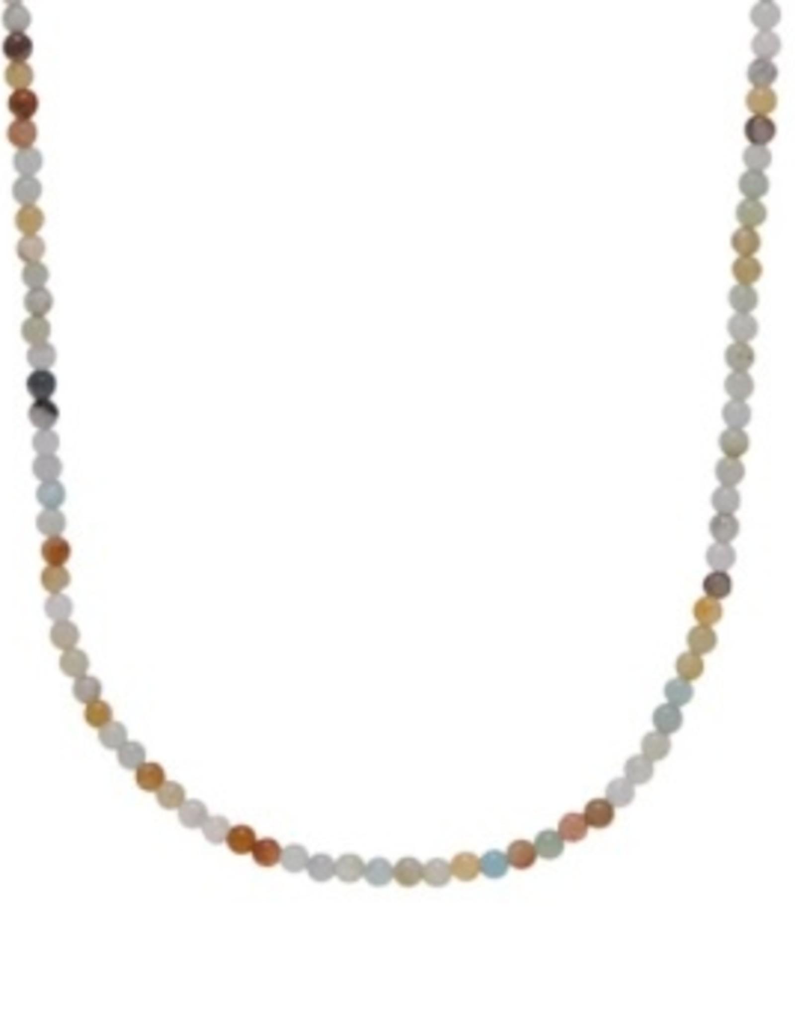 Xzota Xzota - Necklace Amazonite Lock