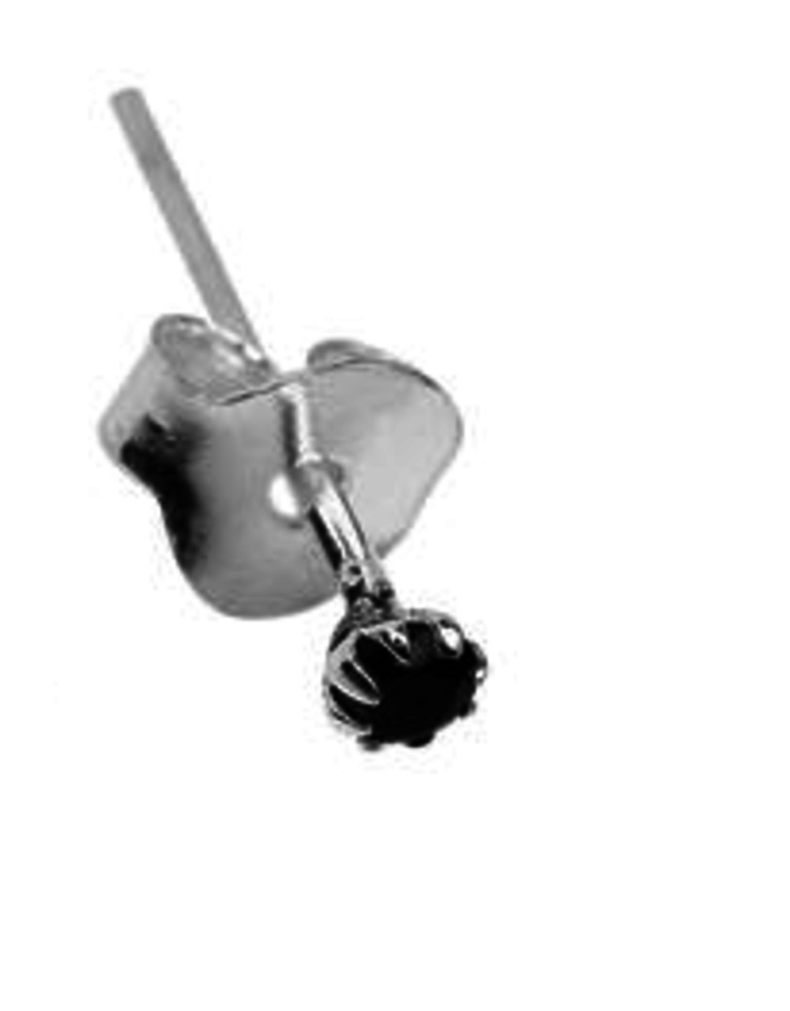 Xzota Xzota - Earring Tiny Stone(Per Stuk)