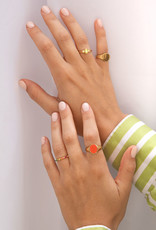 All the Luck in the World ATL-Ring Chérie Oval Small Lime