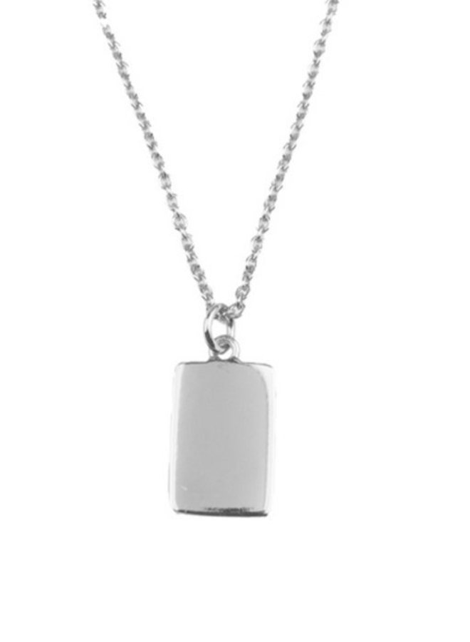 All the Luck in the World - Necklace Charm Rectangle