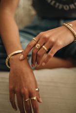 Taj TAJ-Yellow Citrine Ring Athena