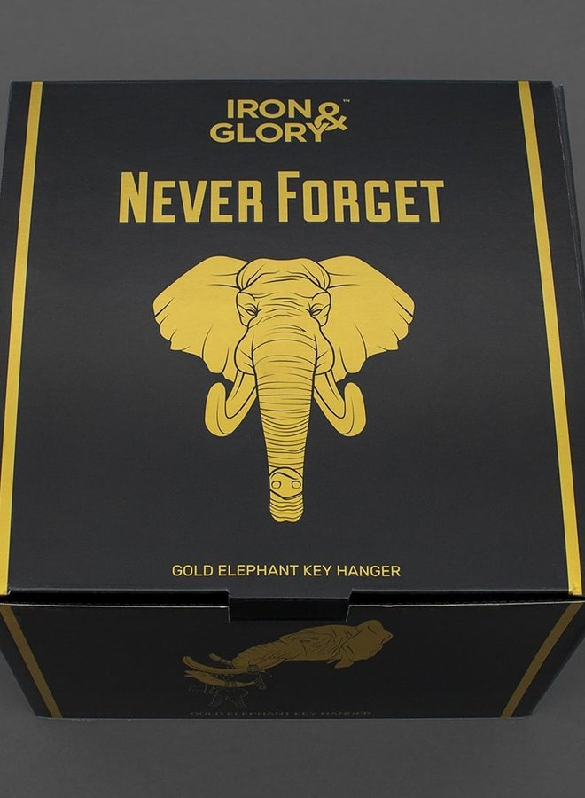 IronGlory-Never Forget Key Hanger