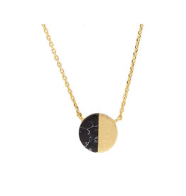 All the Luck in the World All the Luck in the World -  Necklace Galaxy Moon C Necklace