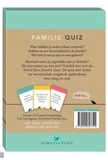 Unieboek Unieboek-Vertel eens Familie Quiz