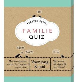 Unieboek AW- Unieboek-Vertel eens Familie Quiz