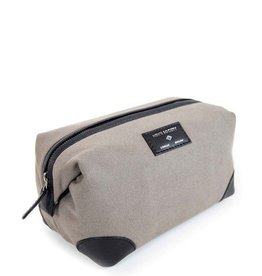 Men's Society Men's Society-Leather Washbag
