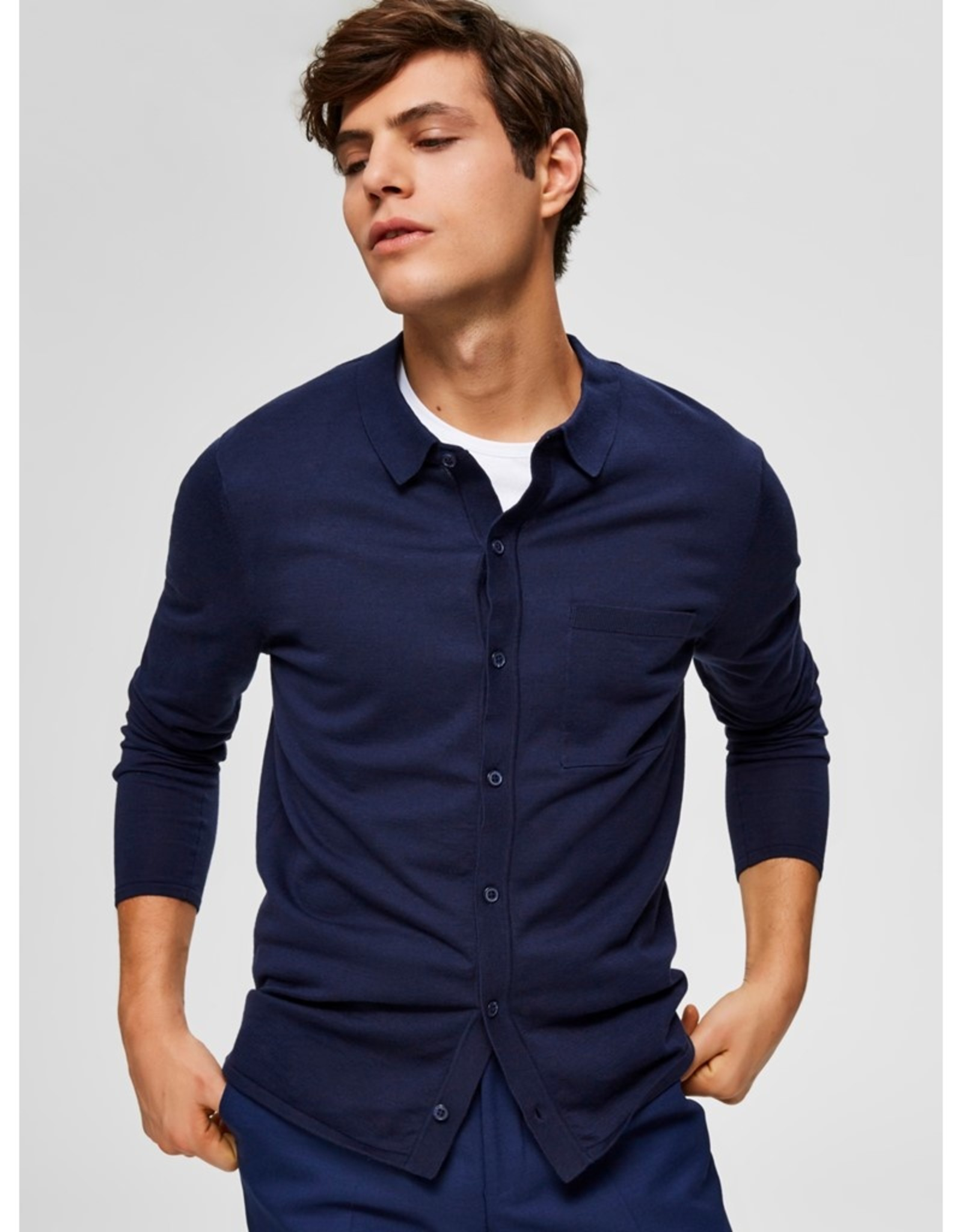 Selected Homme Selected Homme-Eli Polo Cardigan 71584