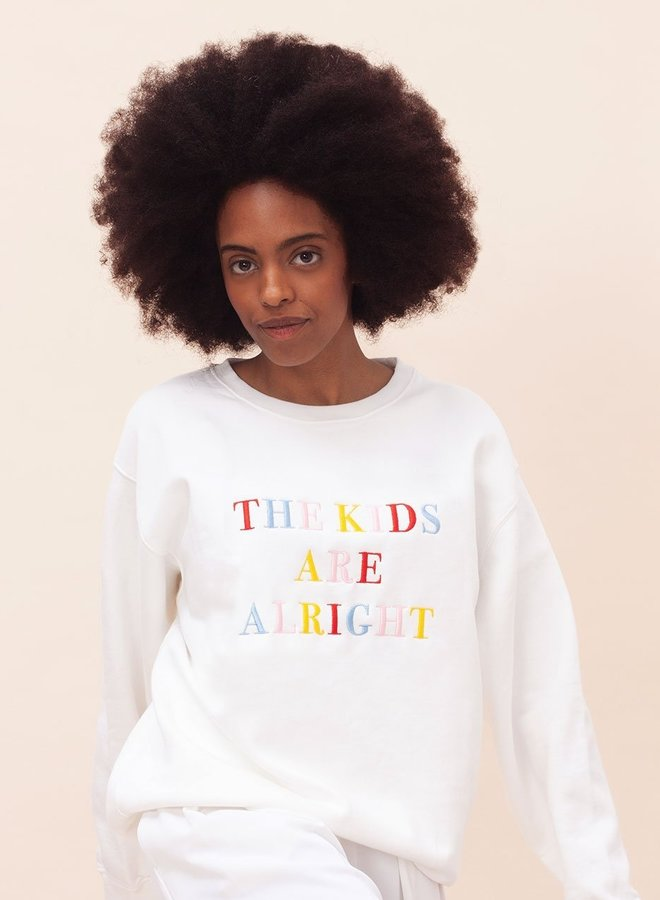 AW20-8-WOM-Sweater The Kids Are Alright