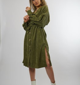 Make My Day Make My Day Slouchy Dress Corduroy