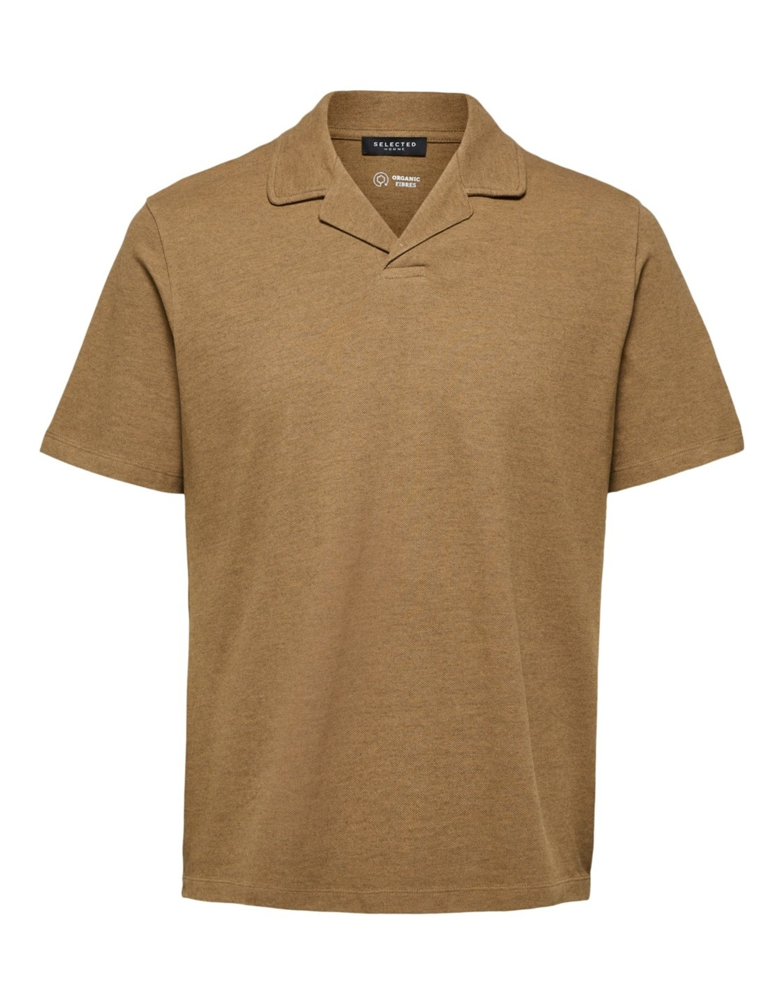 Selected Homme SS21-1-SE-Atlas SS Polo 77285