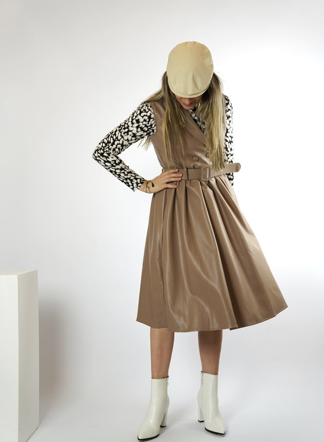 Make My Day - Patent Dress