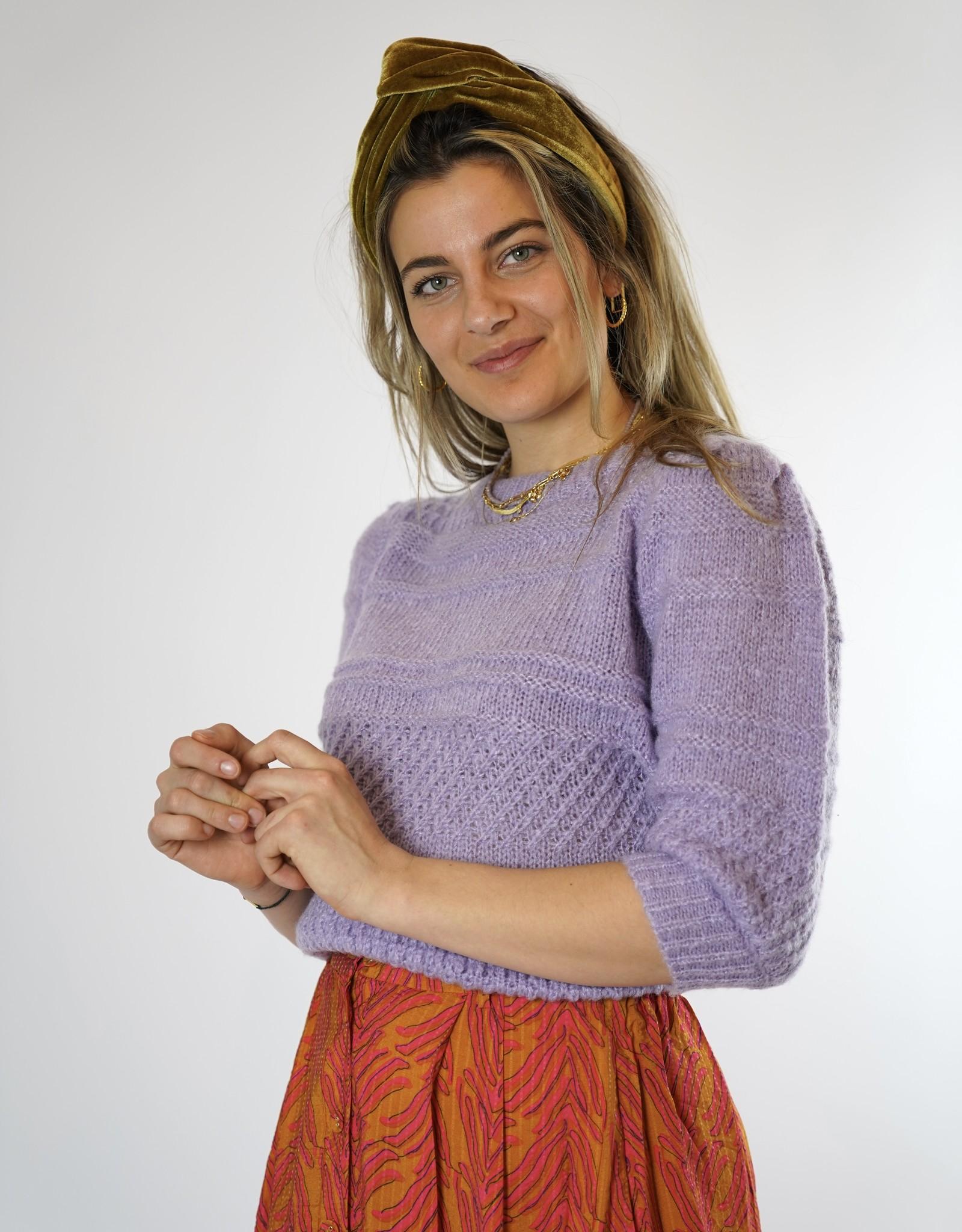 FRNCH FRNCH-Nemophila Sweater