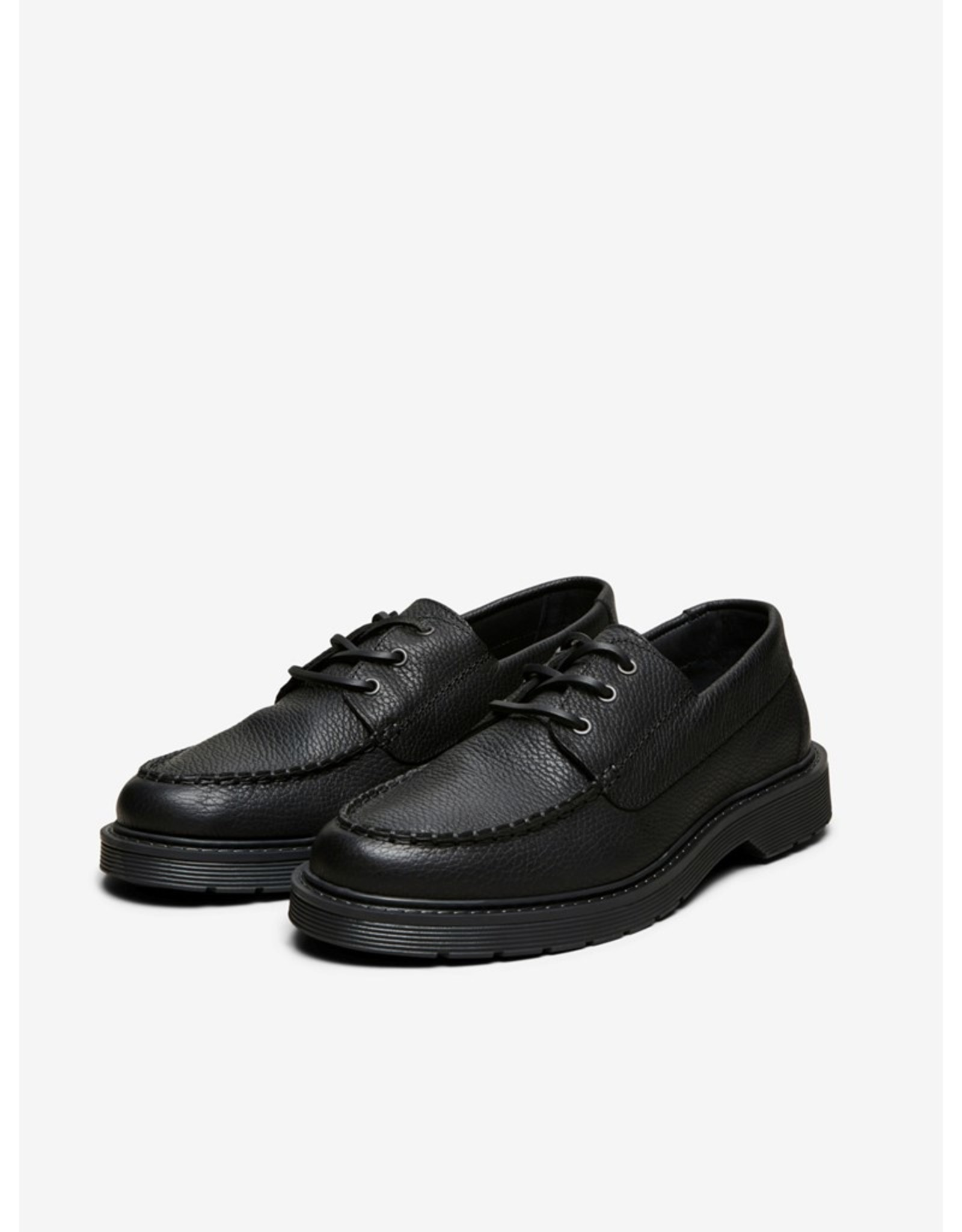 Selected Homme SS21-1-SE-Tim Leather Boat Shoe 78793