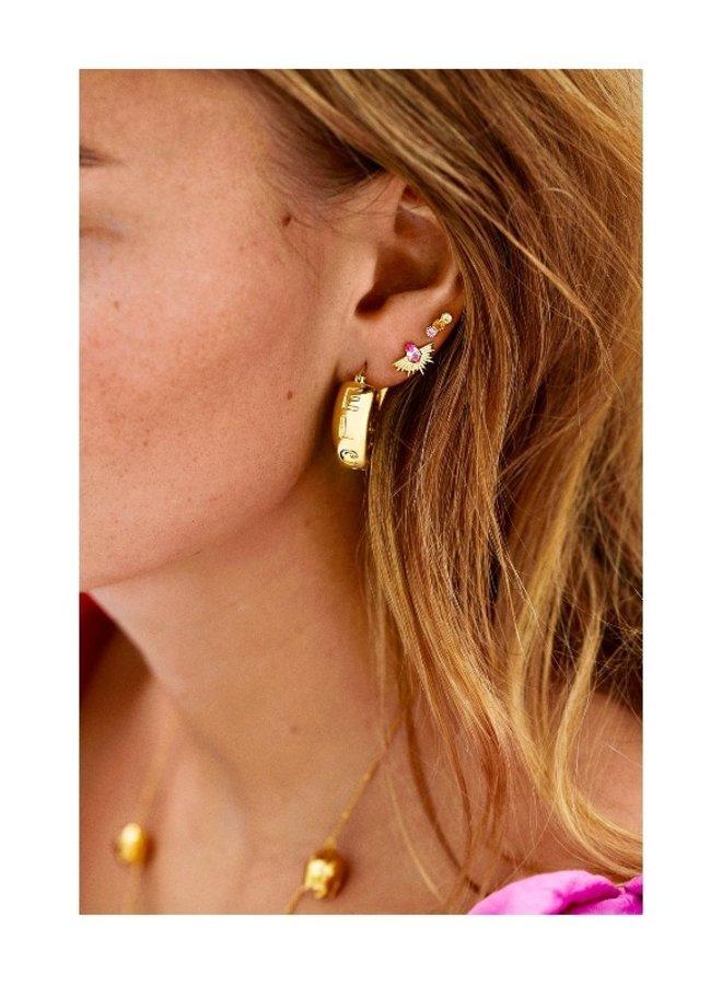 Anna +Nina Freedom Stud Earring