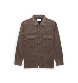 Woodbird Woodbird-Glixto Wool Shirt