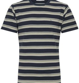 Casual Friday Casual Friday-Thor Pique Stripe Tee