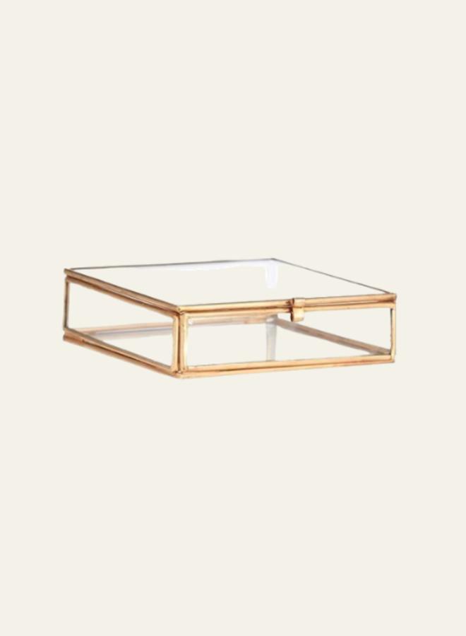 Madams Stoltz Glass Box Quadratic