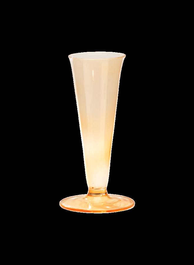 Anna Nina Small Vase Sunset Orange