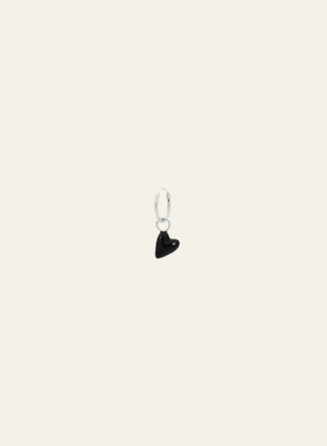 Anna +Nina La Muerta Heart Ring Earring