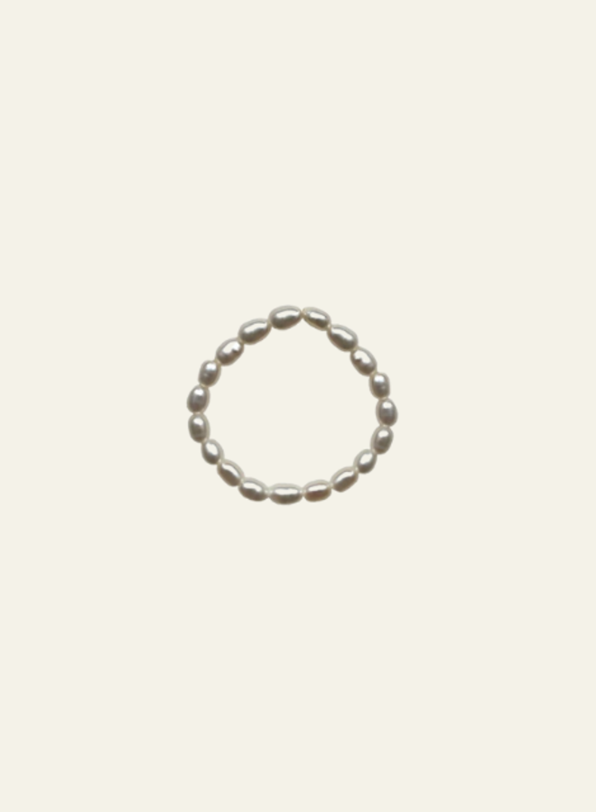 Atelier Labro Rice Pearl Ring