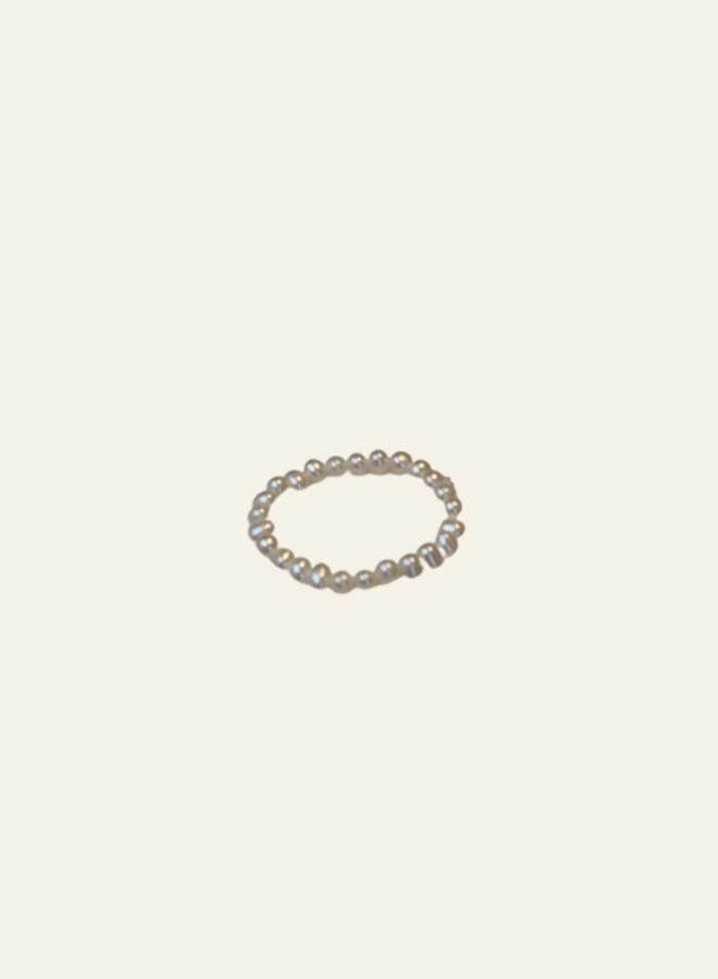 Atelier Labro Round Pearl Ring