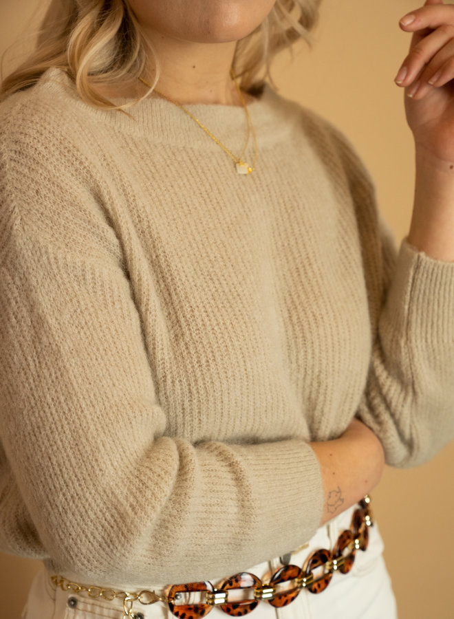 Make My Day Wide Neck Pullover
