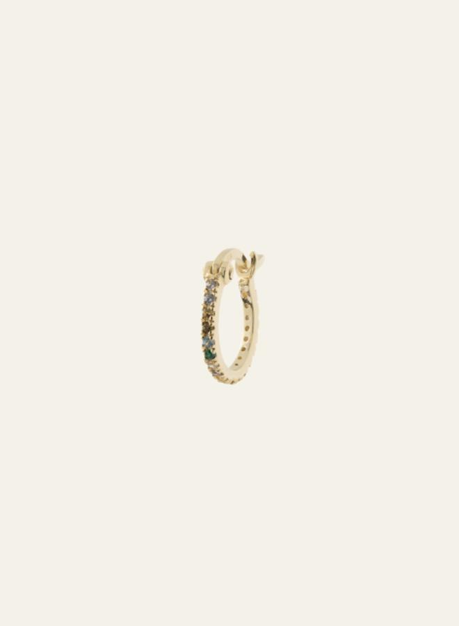 Anna+Nina Single Zirconia Show Ring Earring