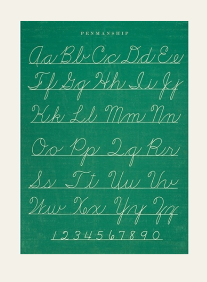 Cavallini Vintage Poster Penmanship