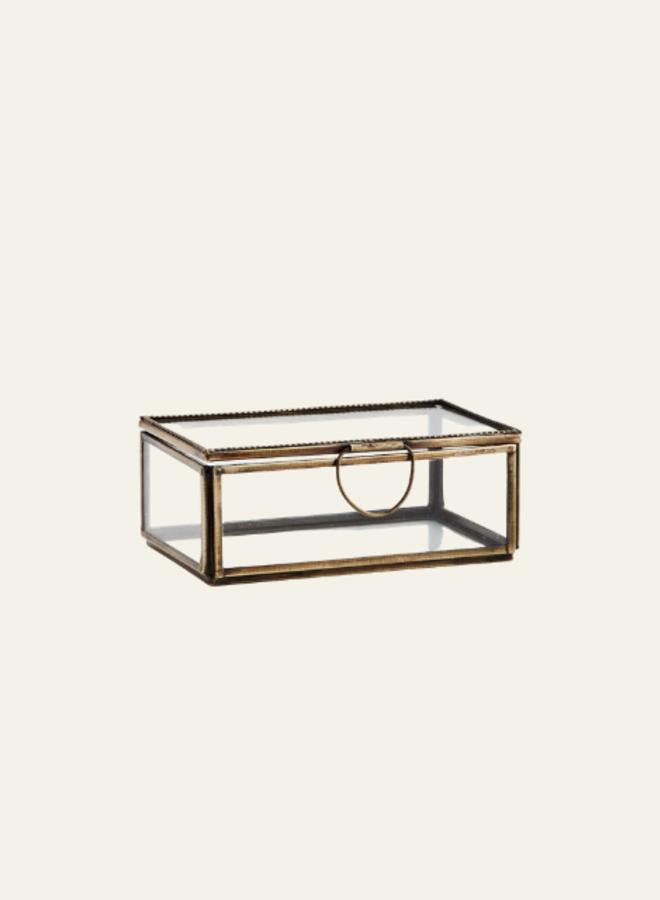 Madam Stoltz Glass box Rectangular