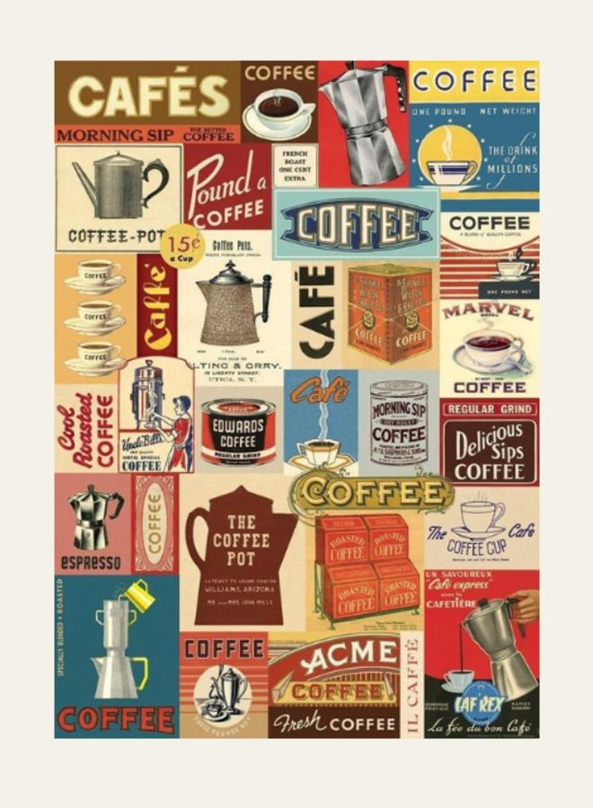 Cavallini Vintage Poster Cafés