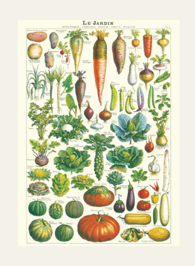 Cavallini Vintage Poster Le Jardin