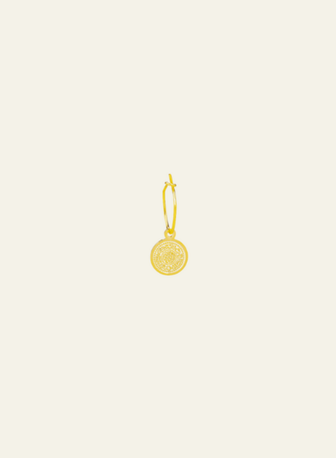 Make My Day Essential Earring Lucky Coin