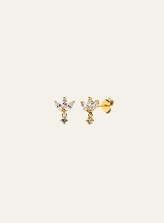 Aleyolé- Single Earring Oak