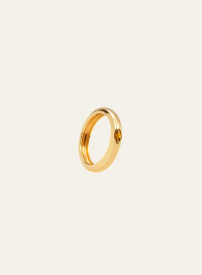 Aleyolé-Ring citron Petra